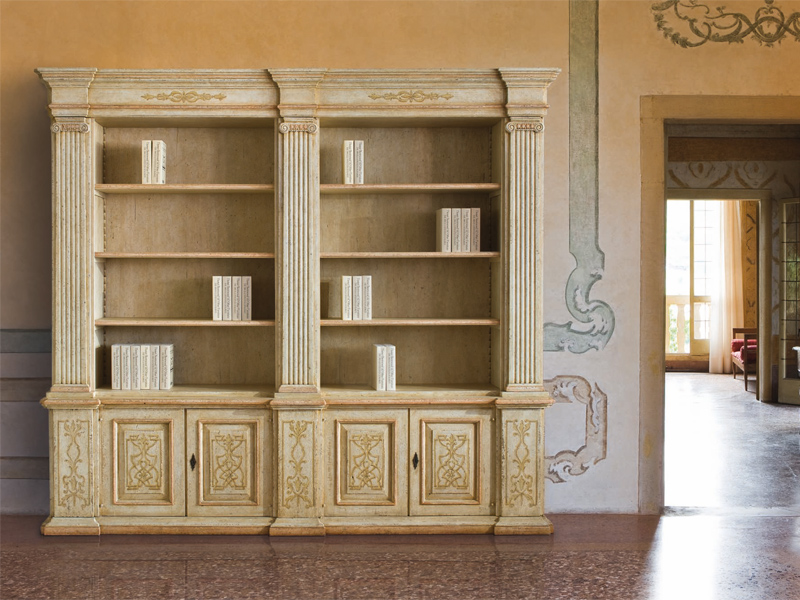 Libreria In Legno Antica.Rudiana Interiors Italian Charming Furniture