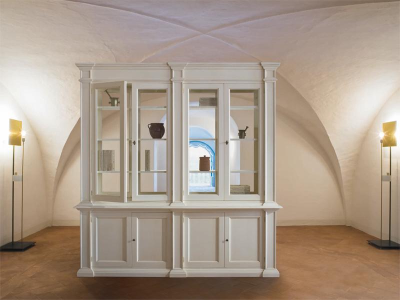 Awesome libreria laccata bianca pictures for Rudiana arredamenti